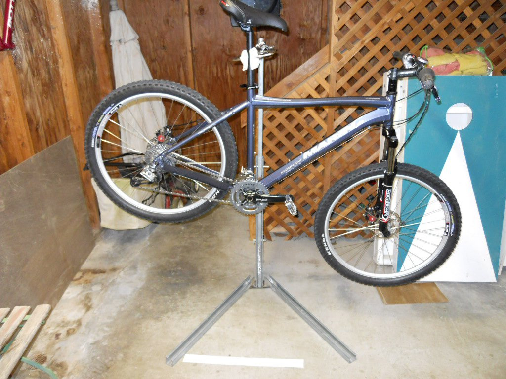 Best ideas about DIY Bike Stand . Save or Pin DIY Portable Adjustable Bike Repair Stand Mtbr Now.