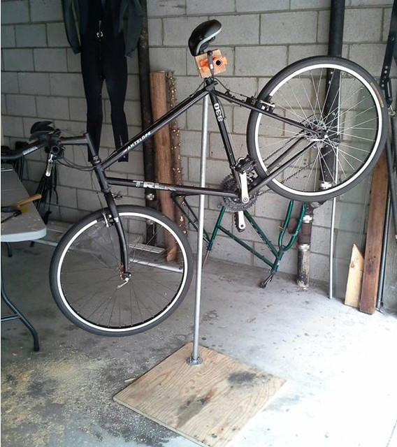 Best ideas about DIY Bike Stand . Save or Pin DIY Bicycle Repair Stand by Andrew Li Now.