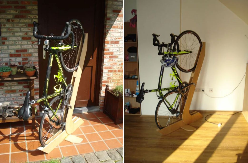 Best ideas about DIY Bike Stand Wood . Save or Pin 10 Amazing DIY Bike Rack Ideas You Just Have To See Now.