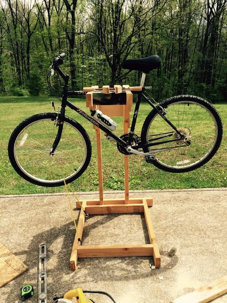 Best ideas about DIY Bike Stand Wood . Save or Pin 17 Best images about MTB Repair & Tools on Pinterest Now.