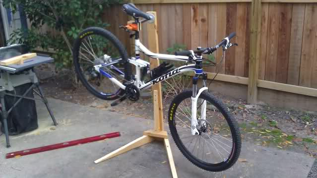 Best ideas about DIY Bike Stand Wood . Save or Pin DIY Bike Stand Mtbr Now.