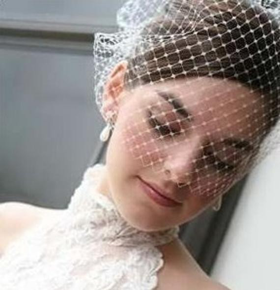 Best ideas about DIY Birdcage Veils . Save or Pin How to Make A Birdcage Veil Tutorial Now.