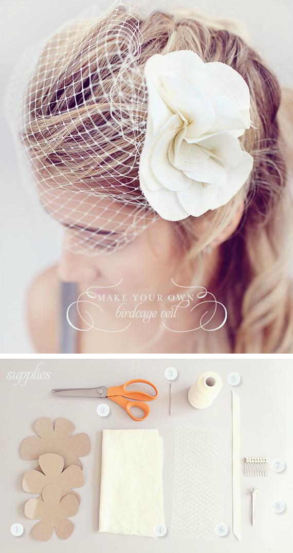 Best ideas about DIY Birdcage Veils . Save or Pin DIY Birdcage veil Now.