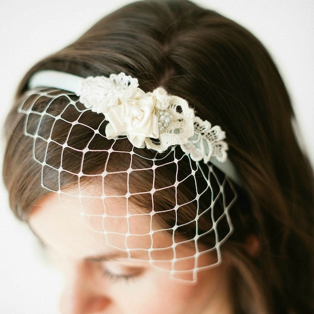 Best ideas about DIY Birdcage Veils . Save or Pin How To Birdcage Veil Headband Now.
