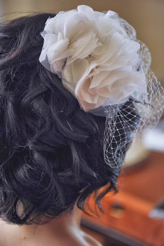 Best ideas about DIY Birdcage Veils . Save or Pin Wedding DIY Birdcage Veil with Flowers Now.