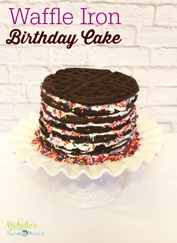 Best ideas about DIY Birthday Cakes . Save or Pin Waffle Iron Birthday Cake DIY Now.