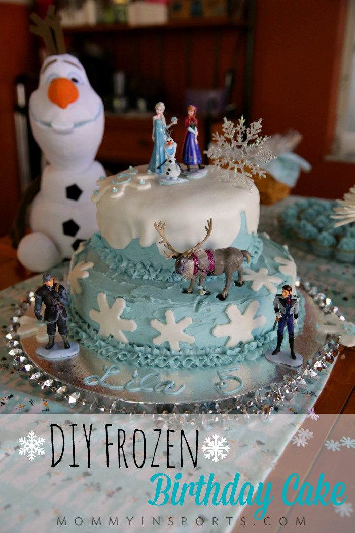 Best ideas about DIY Birthday Cakes . Save or Pin DIY Frozen Birthday Cake Now.