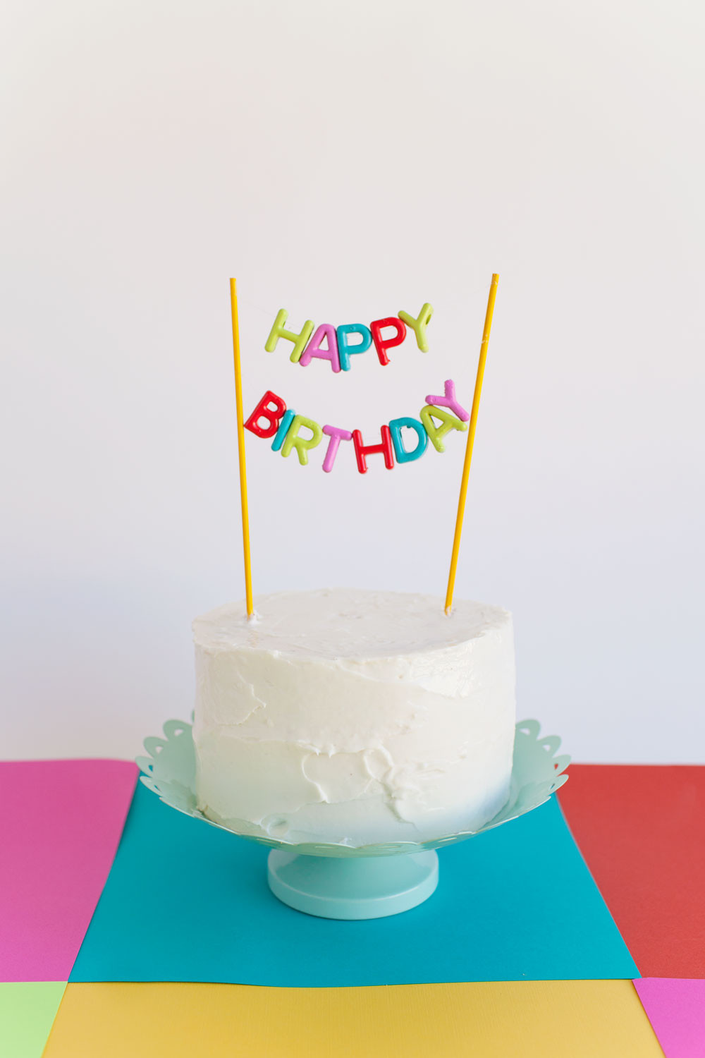Best ideas about DIY Birthday Cakes . Save or Pin ALPHABET BEAD CAKE TOPPER DIY Tell Love and Party Now.