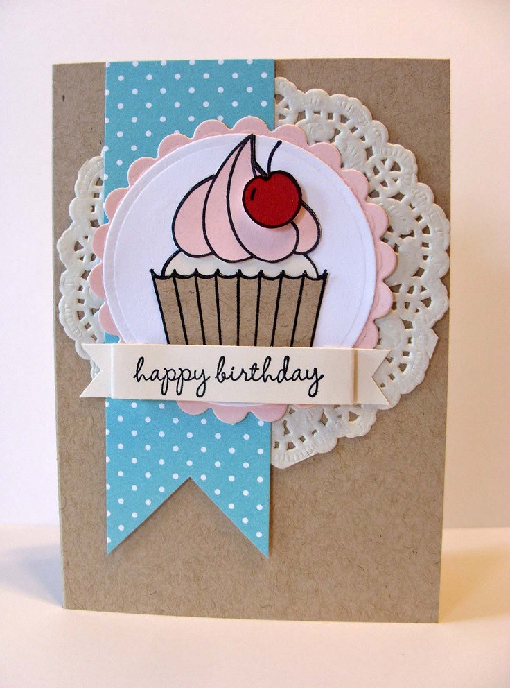 Best ideas about DIY Birthday Card Ideas . Save or Pin DIY Birthday Cards Top 10 Ideas that are Easy To Make Now.