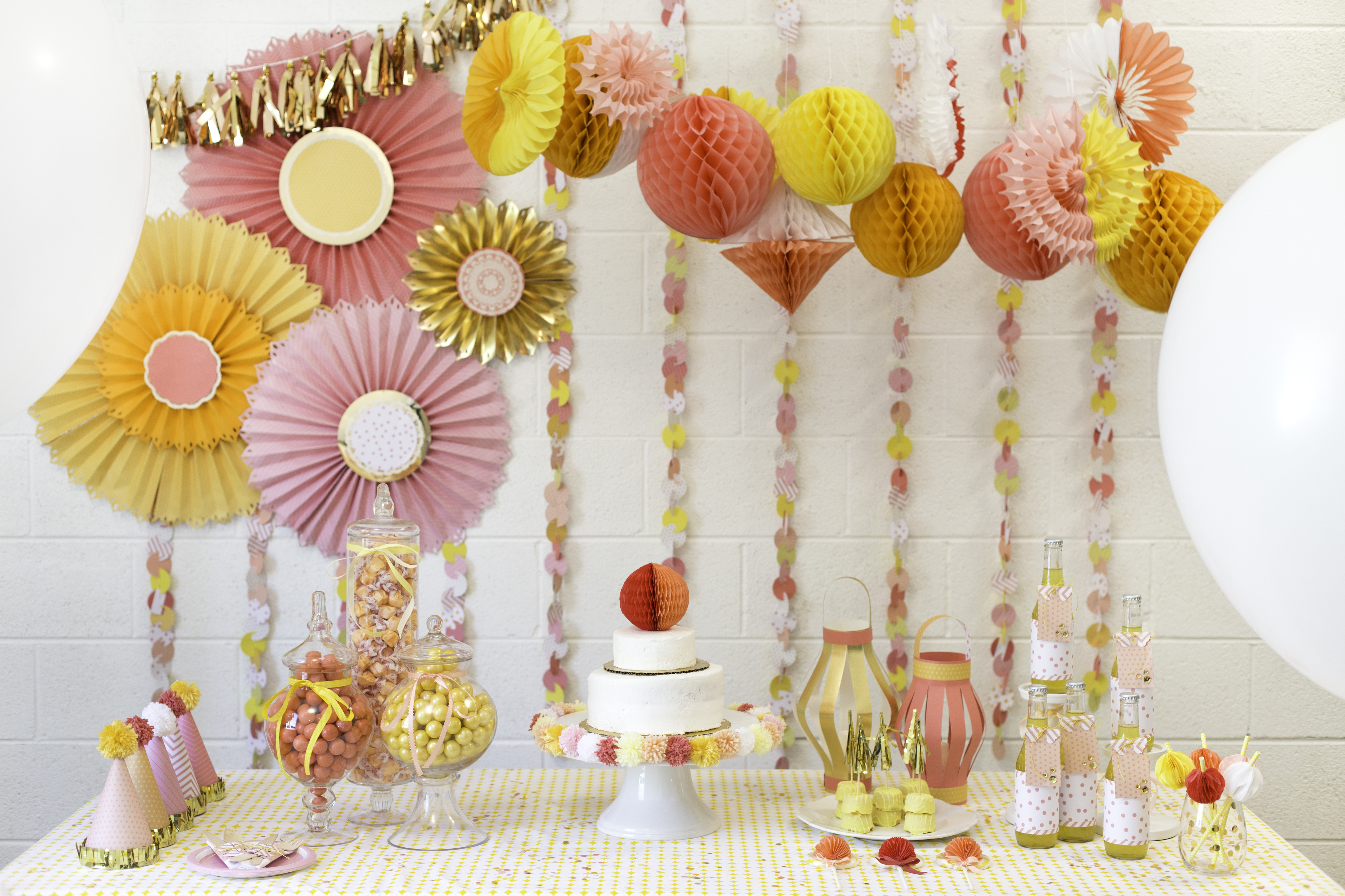 Best ideas about Diy Birthday Decor . Save or Pin DIY Party Decor Now.