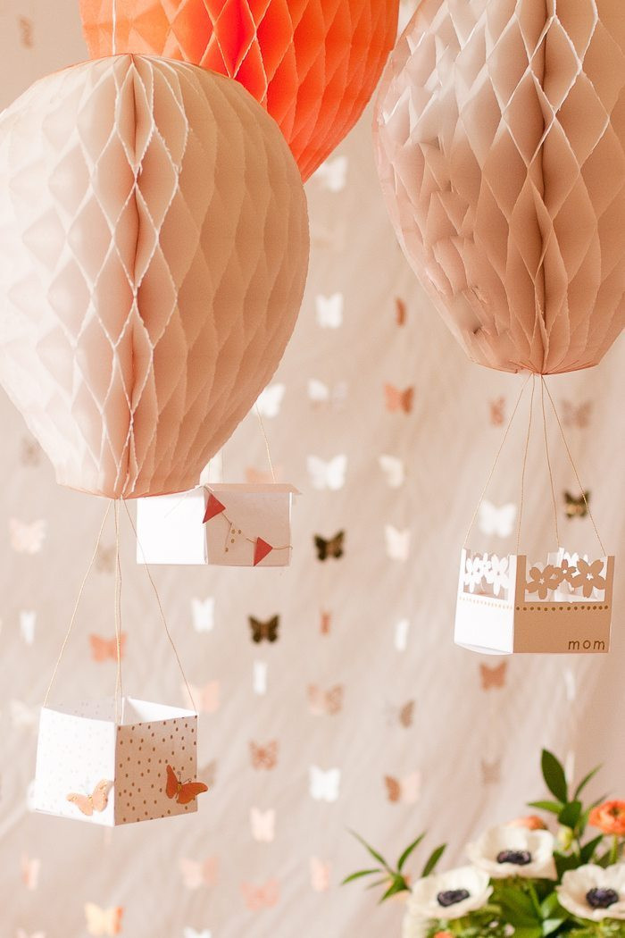 Best ideas about Diy Birthday Decor . Save or Pin DIY Hot Air Balloon Party Decor Flax & Twine Now.