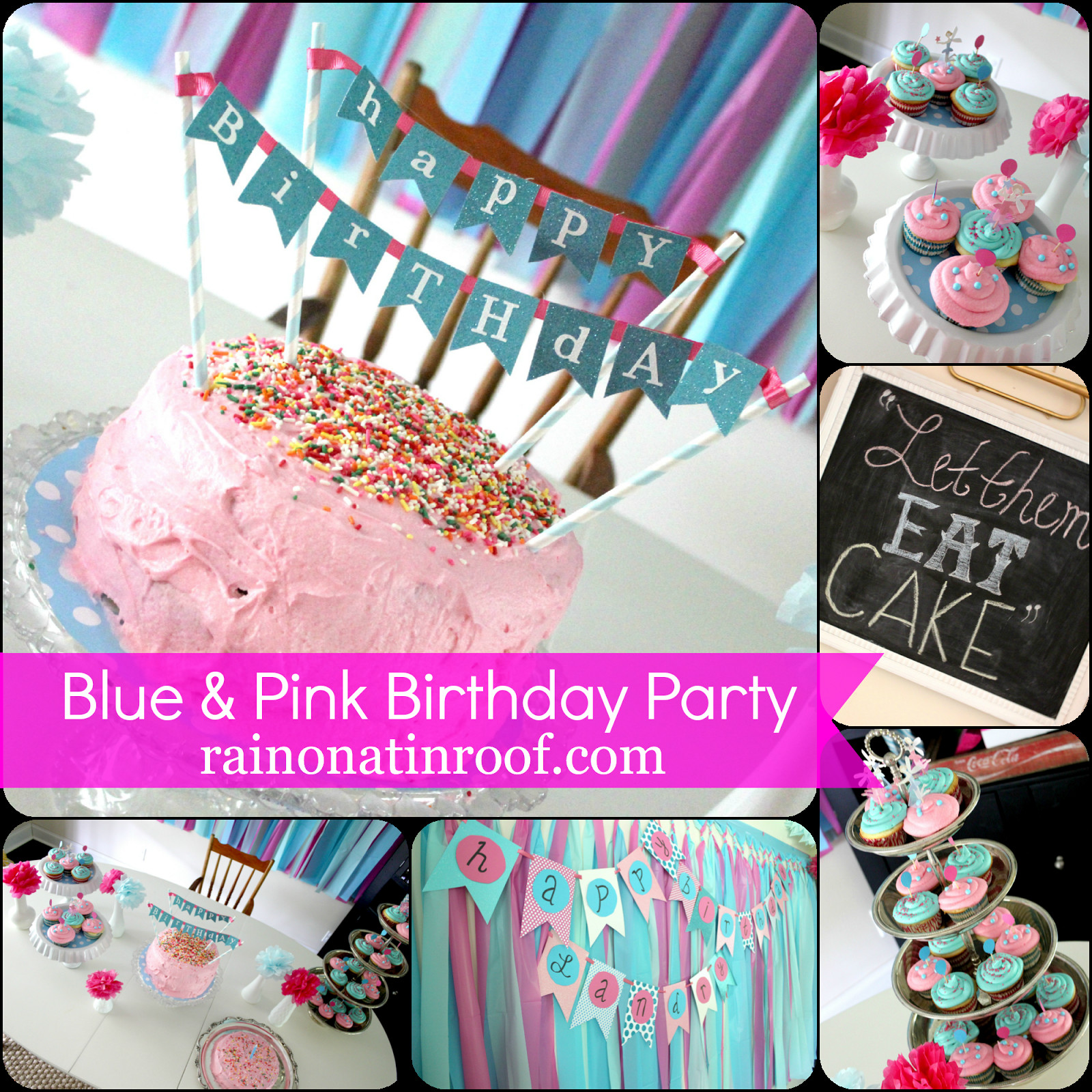 Best ideas about Diy Birthday Decorations . Save or Pin Easy DIY Cake Topper in Under an Hour Now.