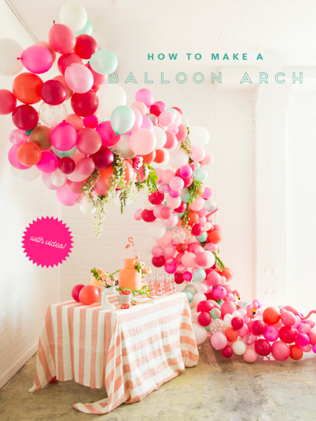 Best ideas about DIY Birthday Decorations . Save or Pin 39 Easy DIY Party Decorations Now.