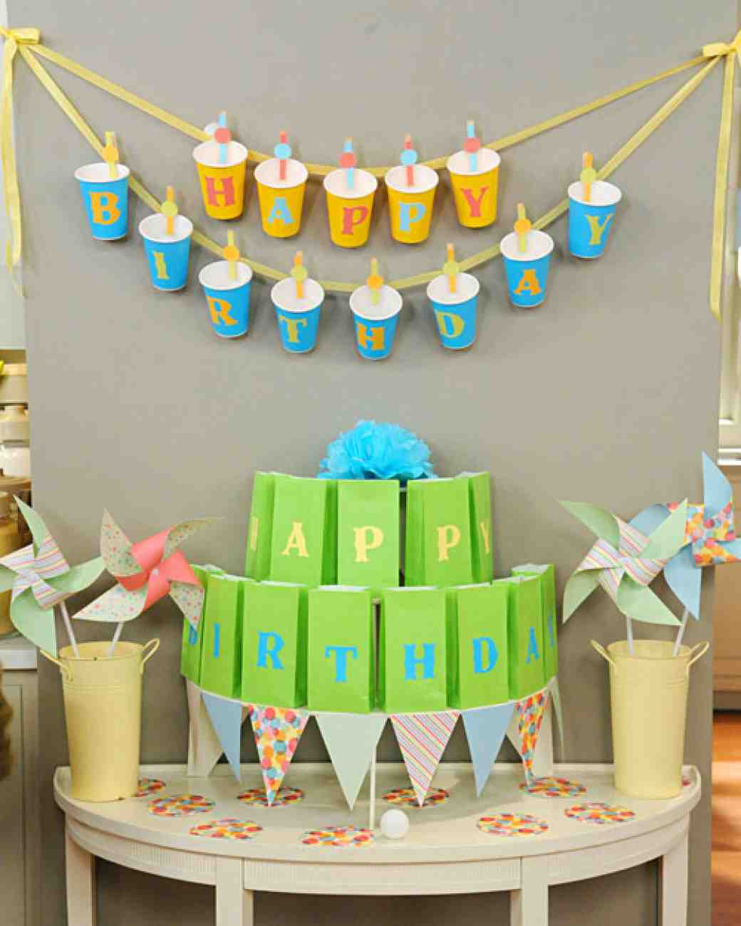 Best ideas about Diy Birthday Decorations . Save or Pin 15 Adorable DIY Birthday Banners Now.