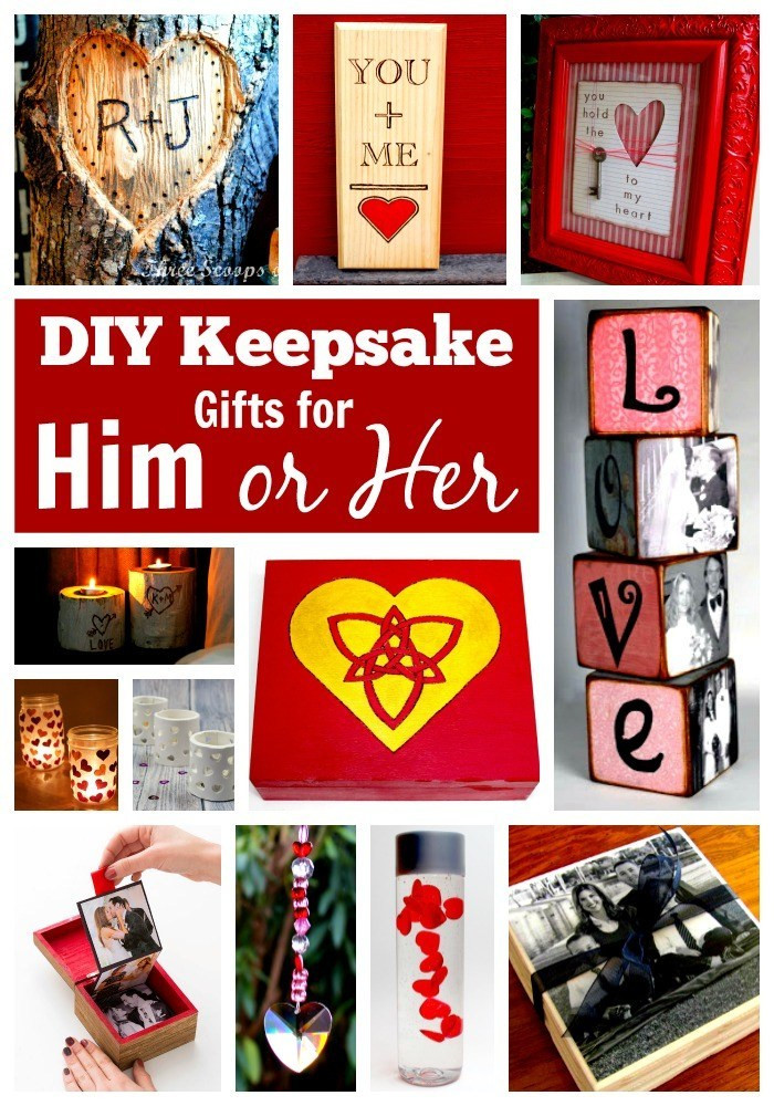 Best ideas about Diy Birthday Gifts For Him . Save or Pin 25 DIY Gifts for Him or Her – In Crafts Now.