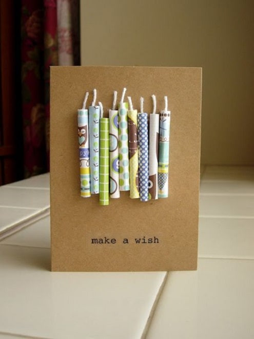 Best ideas about Diy Birthday Gifts For Him . Save or Pin 32 Handmade Birthday Card Ideas and Now.