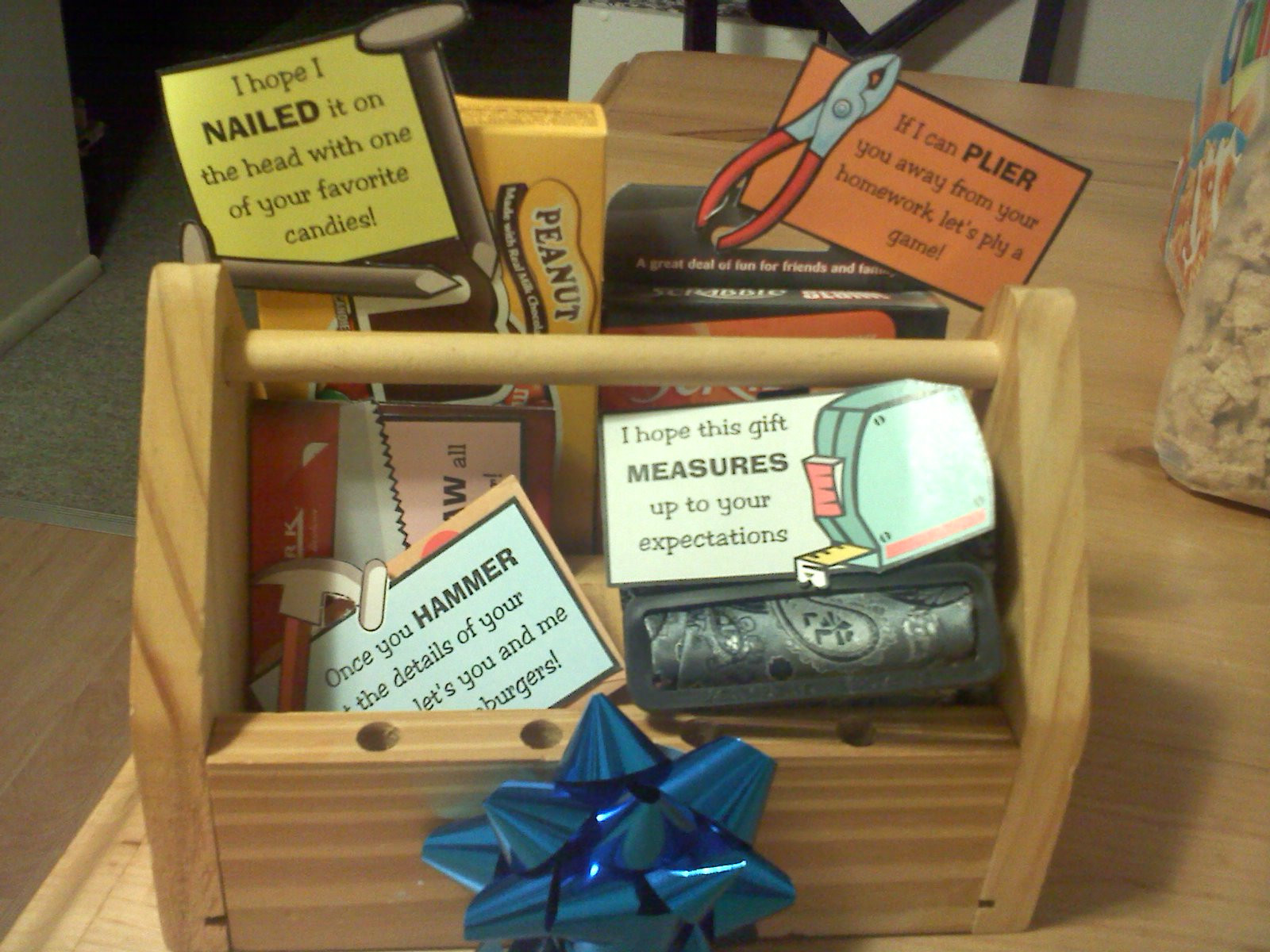 Best ideas about Diy Birthday Gifts For Him . Save or Pin Tool Kit Gift Darling Doodles Now.