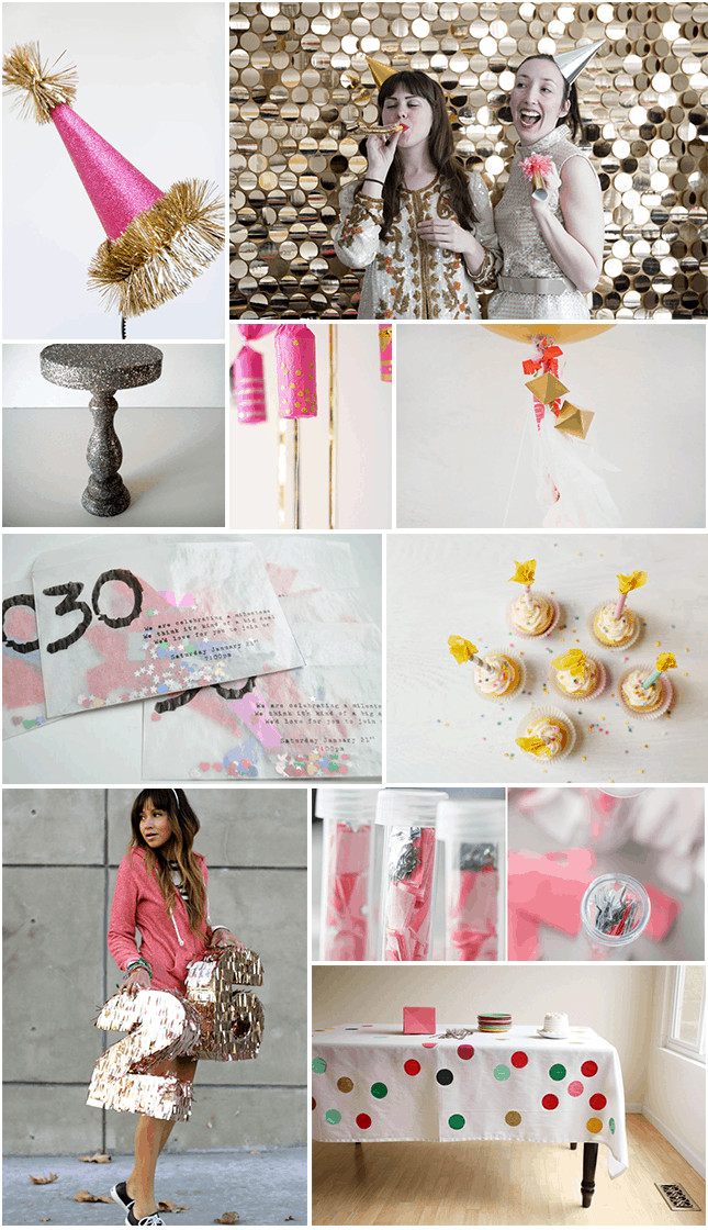 Best ideas about Diy Birthday Party Decorations . Save or Pin 10 DIY BIRTHDAY PARTY DECORATIONS Now.