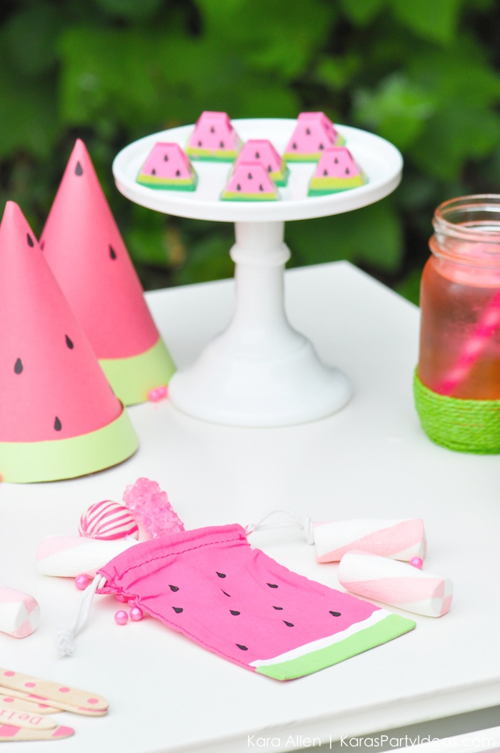 Best ideas about Diy Birthday Party Decorations . Save or Pin Kara s Party Ideas Summer Watermelon DIY Birthday Party Now.