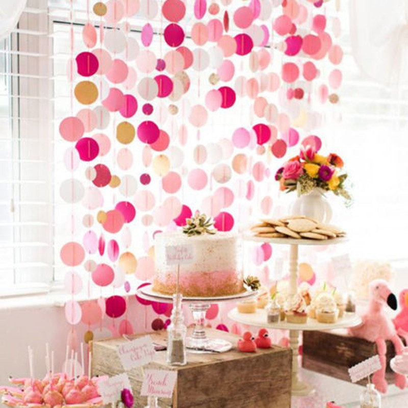 Best ideas about Diy Birthday Party Decorations . Save or Pin Glitter Paper Birthday Party Hanging Bunting Banner Flag Now.