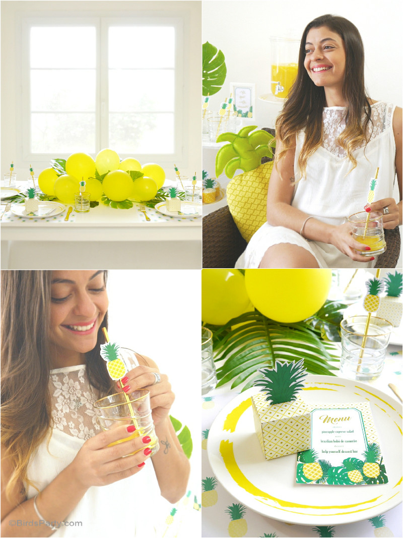 Best ideas about Diy Birthday Party Decorations . Save or Pin Party Like a Pineapple Now.
