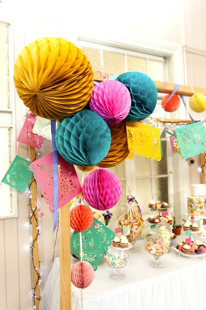 Best ideas about Diy Birthday Party Decorations . Save or Pin A Bright & Colorful Summer Party Fiesta Party Ideas Now.