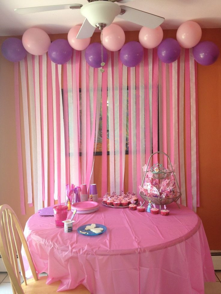 Best ideas about Diy Birthday Party Decorations . Save or Pin DIY birthday party decorations Colton Now.