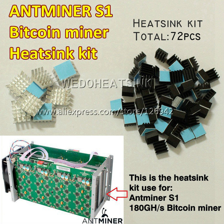 Best ideas about DIY Bitcoin Miner . Save or Pin Cooling kit 72pcs For Bitcoin Miner Antminer ASIC 180GH s Now.