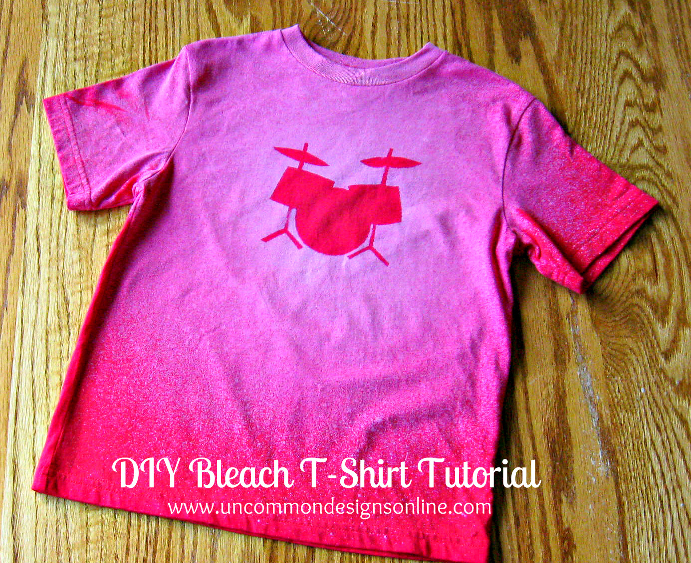 Best ideas about DIY Bleach Shirt . Save or Pin DIY Bleach T Shirt Now.