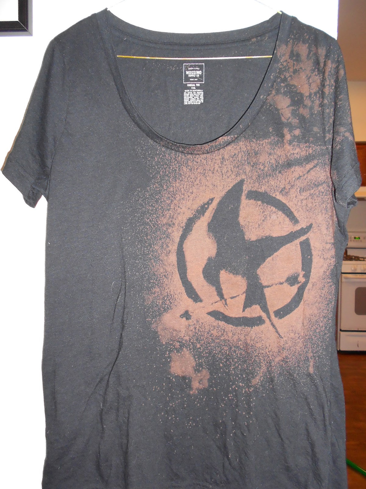 Best ideas about DIY Bleach Shirt . Save or Pin I Was p Inspired Kara s DIY Bleach Design T Shirt Now.