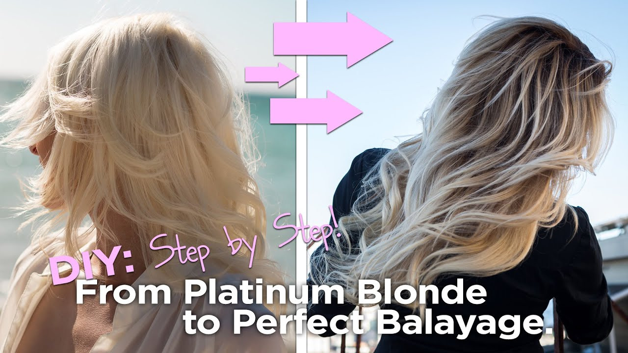 Best ideas about DIY Blonde Highlights . Save or Pin DIY from Blonde to the Perfect Balayage Easy to Follow Now.