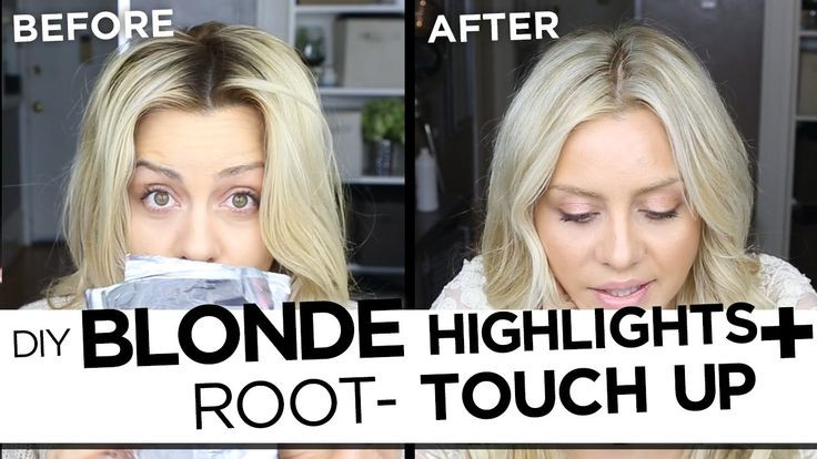 Best ideas about DIY Blonde Highlights . Save or Pin DIY Blonde Highlights And Root Touch Up Tutorial My Now.