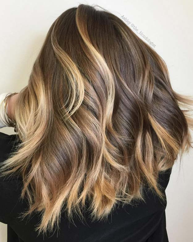 Best ideas about DIY Blonde Highlights . Save or Pin 43 Balayage High Lights to Copy Today The Goddess Now.