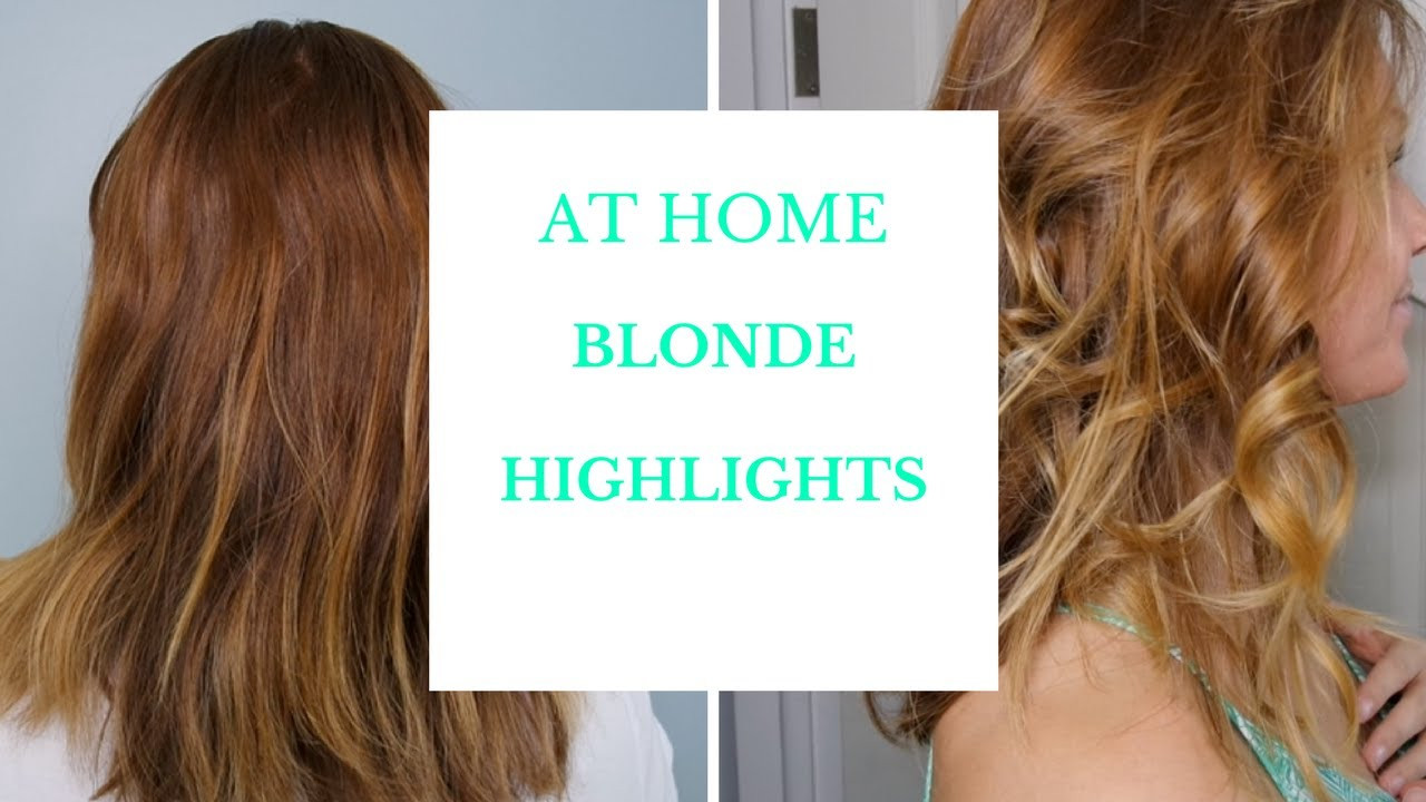 Best ideas about DIY Blonde Highlights . Save or Pin DIY BLONDE HIGHLIGHTS AND OMBRE Now.
