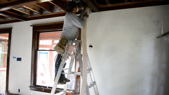 Best ideas about DIY Blown In Insulation Walls . Save or Pin Our Energy Rehab Results Are In Curbly Now.