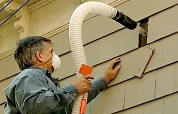 Best ideas about DIY Blown In Insulation Walls . Save or Pin How to Retrofit Cellulose Insulation Now.