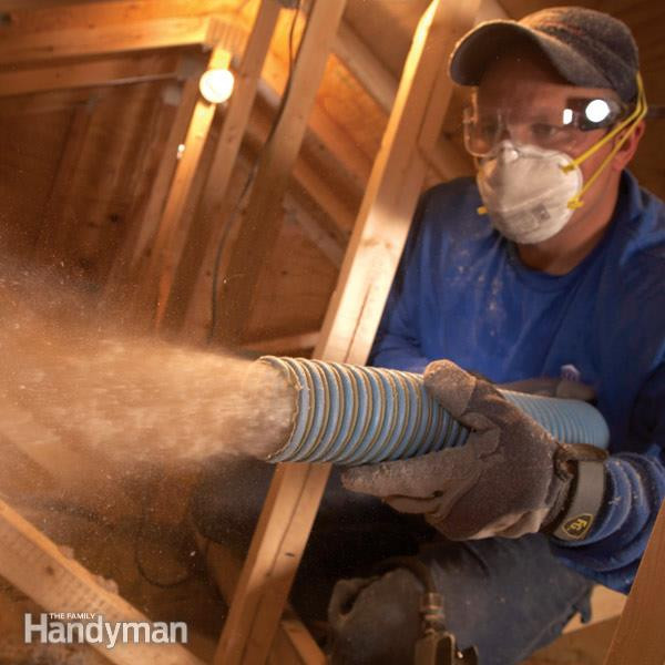 Best ideas about DIY Blown In Insulation Walls . Save or Pin Saving Energy Blown Attic Insulation Now.