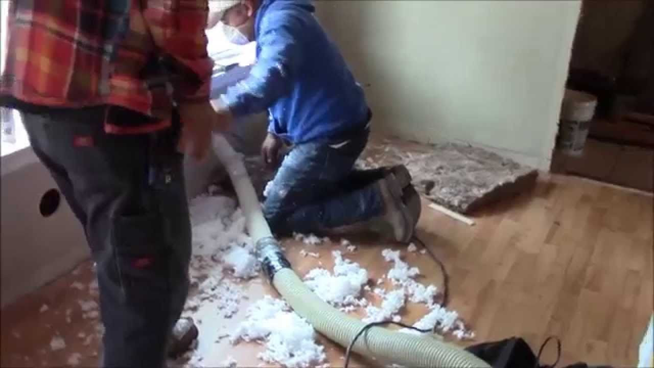 Best ideas about DIY Blown In Insulation Walls . Save or Pin Blown In Insulation Installed Into Existing Walls Now.