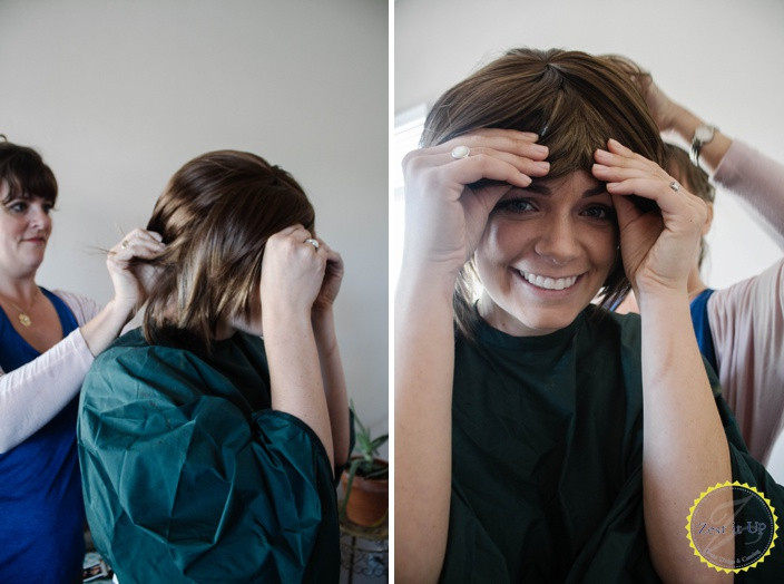 Best ideas about DIY Bob Haircut . Save or Pin How to DIY a Layered Bob Now.