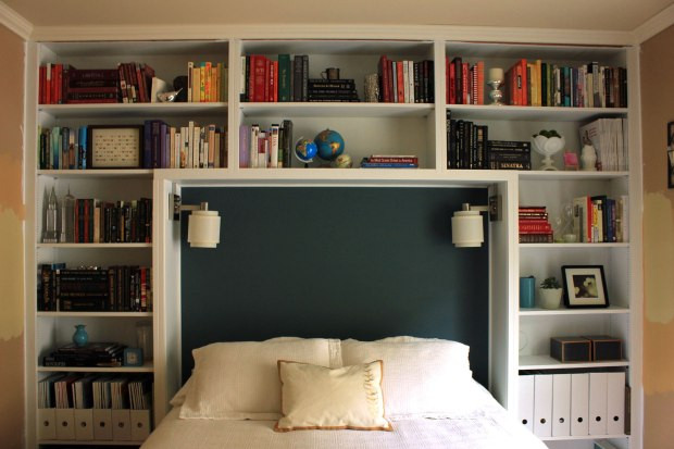 Best ideas about DIY Bookcase Headboard Plans . Save or Pin Build Bookcase Headboard Bed Plans DIY ornamental woodwork Now.