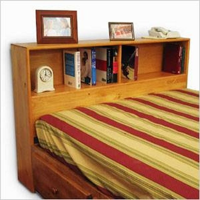 Best ideas about DIY Bookcase Headboard Plans . Save or Pin How to Build a King Size Bookcase Headboard Now.