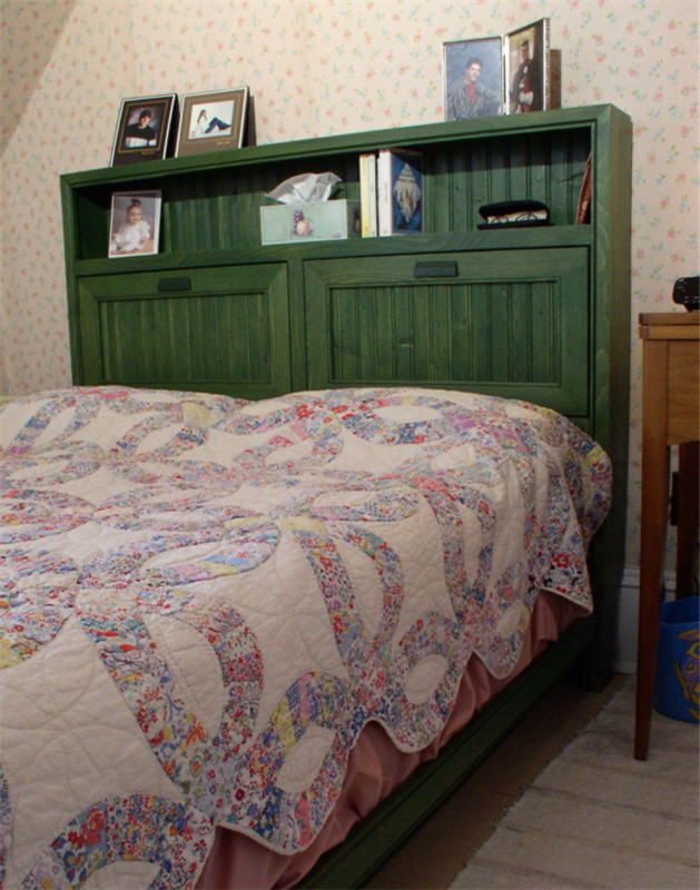 Best ideas about DIY Bookcase Headboard Plans . Save or Pin The Cottage Bookcase Bed — Woodworking Plans not free Now.