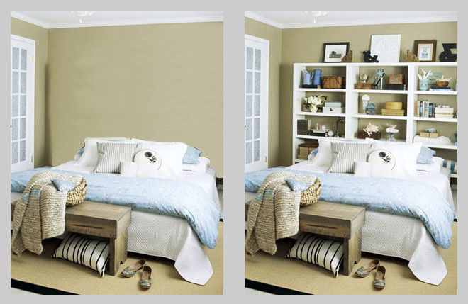 Best ideas about DIY Bookcase Headboard Plans . Save or Pin Do it yourself bookcases inside of luxury yachts boat Now.