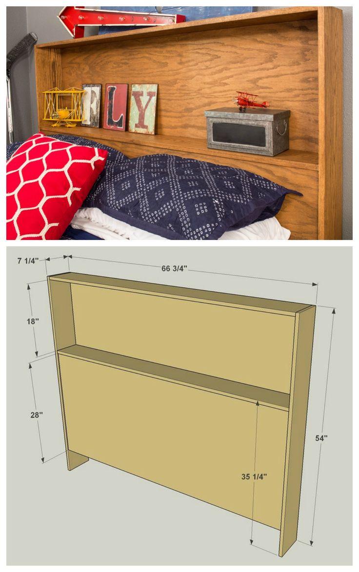Best ideas about DIY Bookcase Headboard Plans . Save or Pin Best 25 Bookcase headboard ideas on Pinterest Now.
