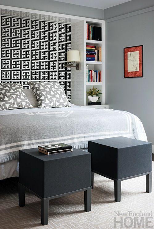 Best ideas about DIY Bookcase Headboard Plans . Save or Pin Best 25 Wallpaper bookshelf ideas on Pinterest Now.