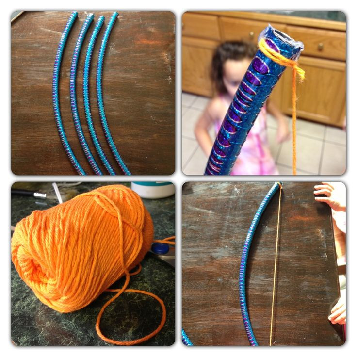 Best ideas about DIY Bow And Arrow . Save or Pin DIY Bow and arrow Using hula hoop DIY BOW AND ARROW Now.