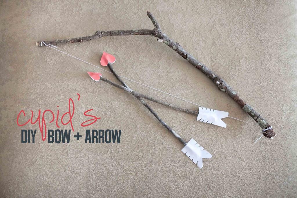 Best ideas about DIY Bow And Arrow . Save or Pin DIY Cupid Bow Arrow Set Fresh Mommy Blog Fresh Mommy Now.