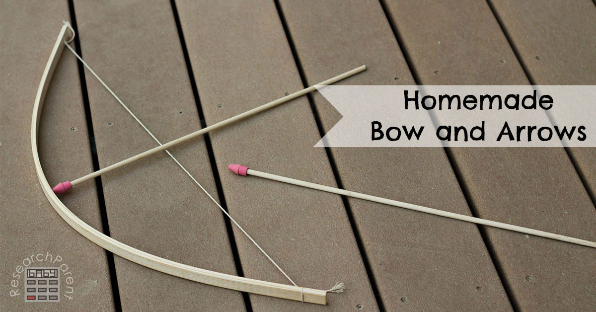 Best ideas about DIY Bow And Arrow . Save or Pin Homemade Bow and Arrows ResearchParent Now.