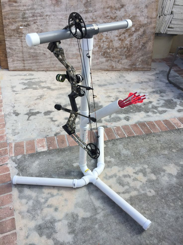 Best ideas about DIY Bow Stand . Save or Pin pound bow stand Now.
