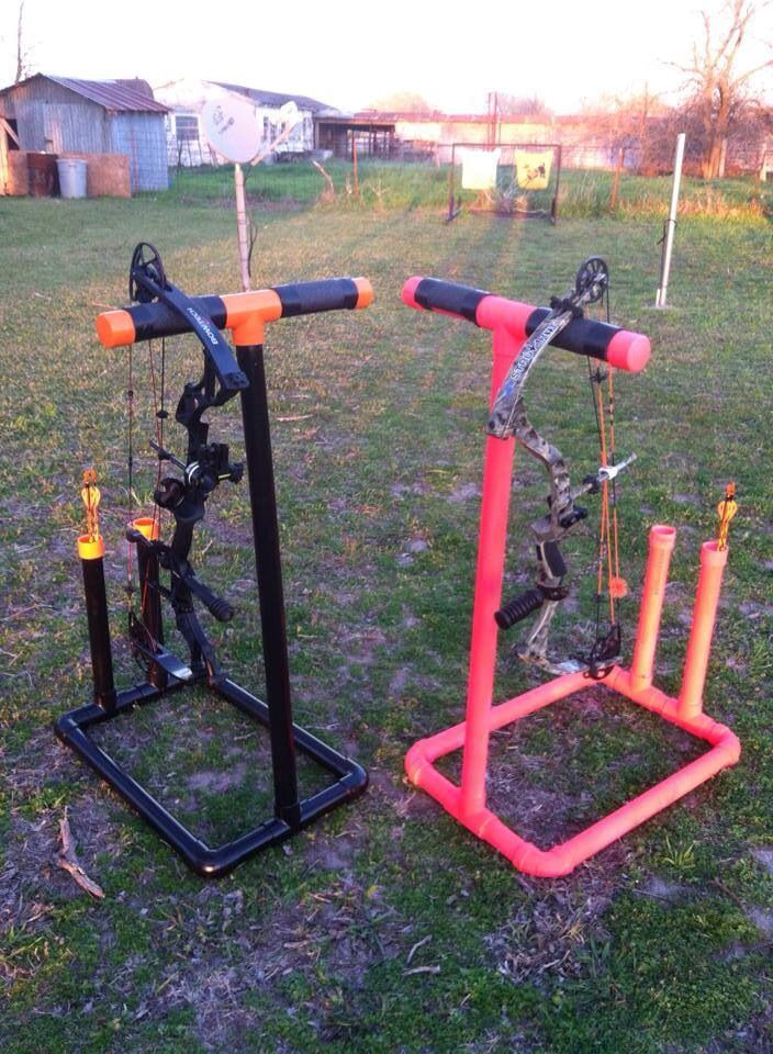 Best ideas about DIY Bow Stand . Save or Pin How To Build A Archery Bow Rack WoodWorking Projects & Plans Now.